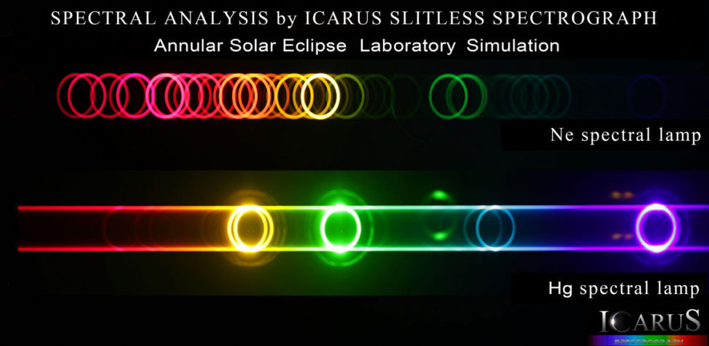 Astronomical spectrograph - Annular Eclipse Simulation