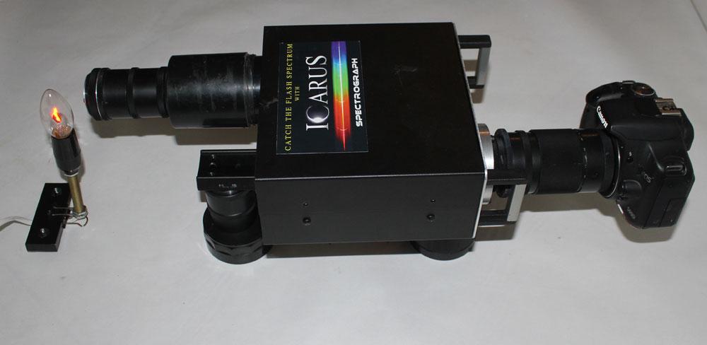 Astronomical spectrograph trasnformed into slit