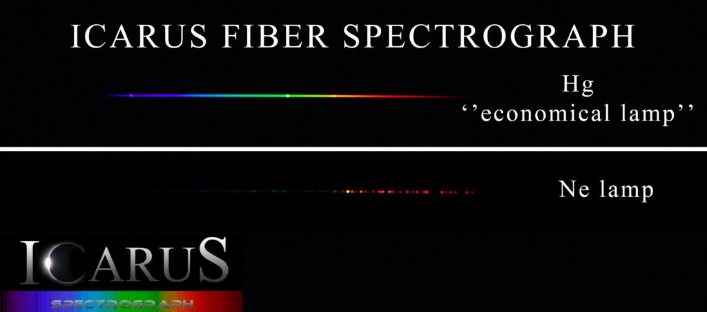 Astronomical spectrograph for commercial uses